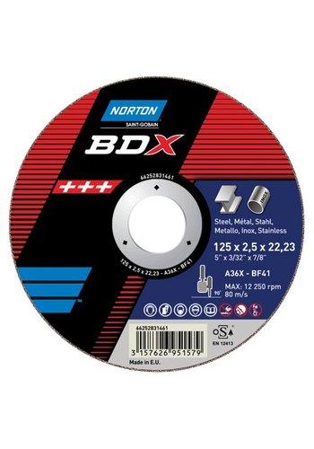 Norton Snijschijven voor metaal - type BDX