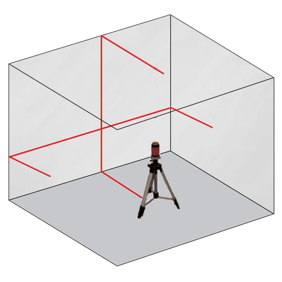 Laser ligne-croix - CL202-R