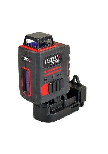 Levelfix Kruislijnlaser - CCL203-R