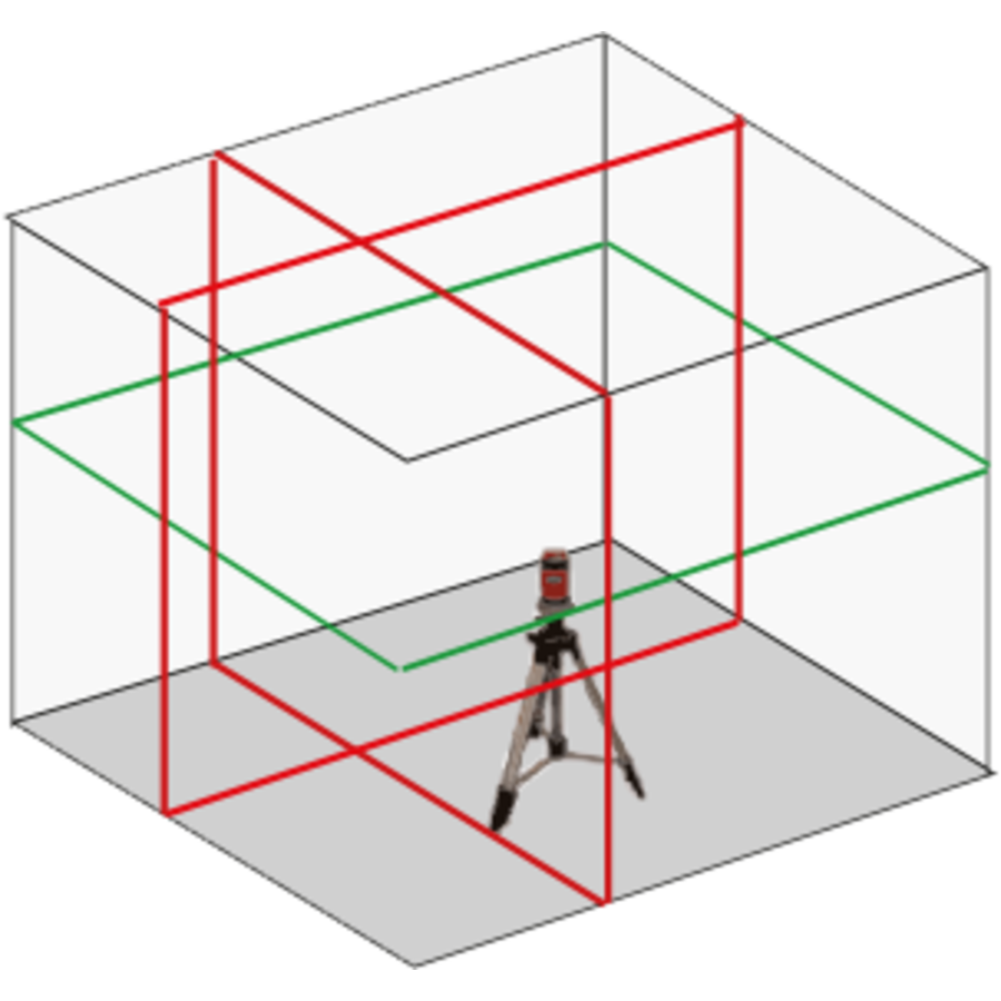 Laser ligne-croix - CCL360GR