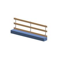 Rampe de sécurité - verticale