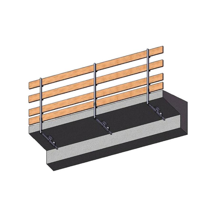 Rampe de sécurité - verticale/horizontale