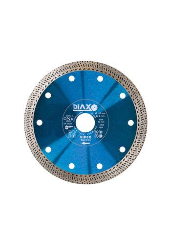 Prodiaxo Lame de scie diamantée 125mm - Viper