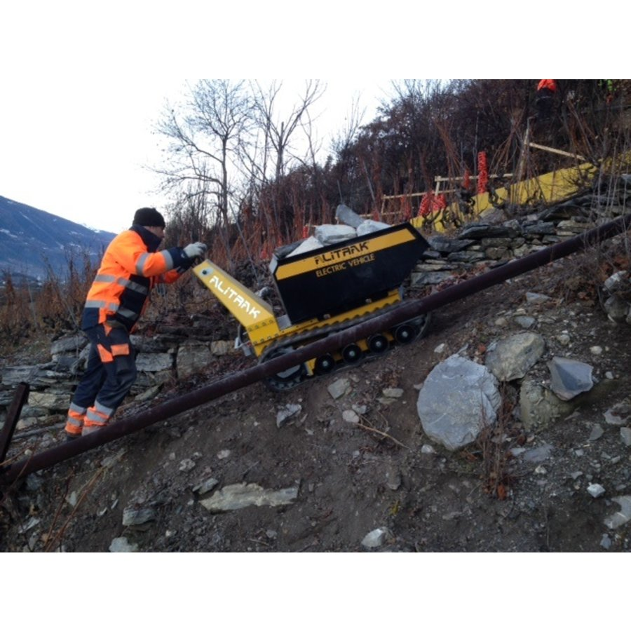 Dumper électrique sur chenilles DCT300P - accu