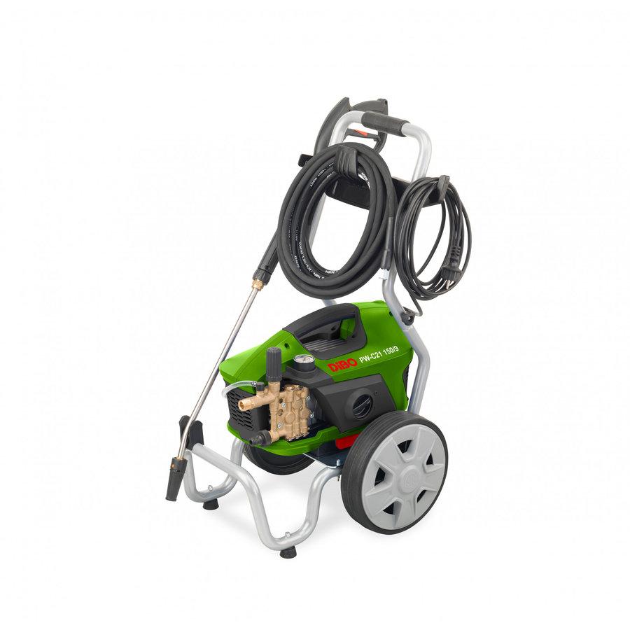 Nettoyeur haute pression eau froide avec tuyau, lance et chariot