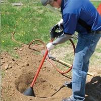 Excavator Soil Pick