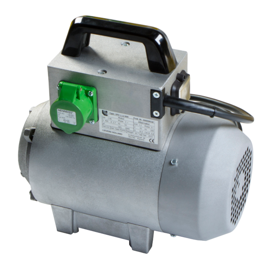 Hoogfrequent Omvormer HFO 0,7 kVA / 230 V