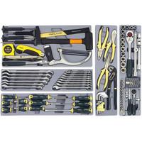 Coffre à outils garni - 101 pièces