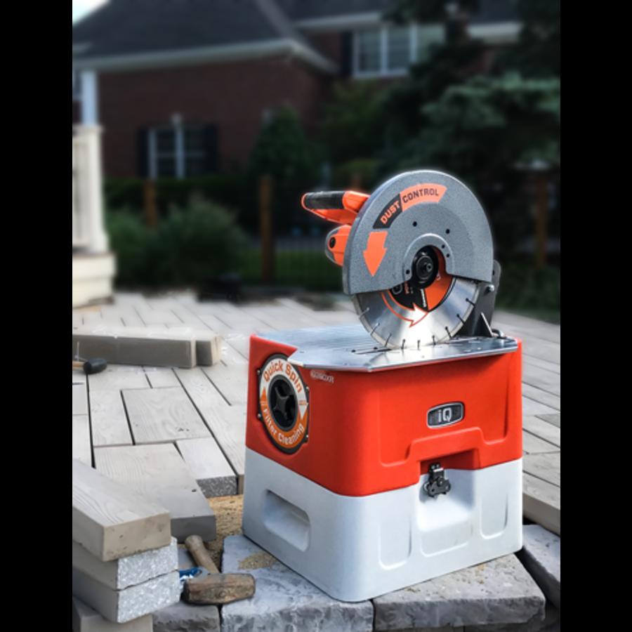 Stofvrije tafelzaagmachine - IQ360XR