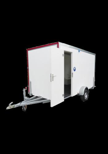 ABM Roulotte de chantier - type 5 - avec banquettes, toilette et fenêtre os
