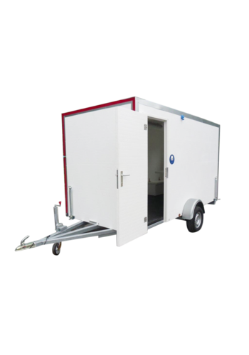 ABM Werfwagen - type 5 - met banken, toilet en kipraam