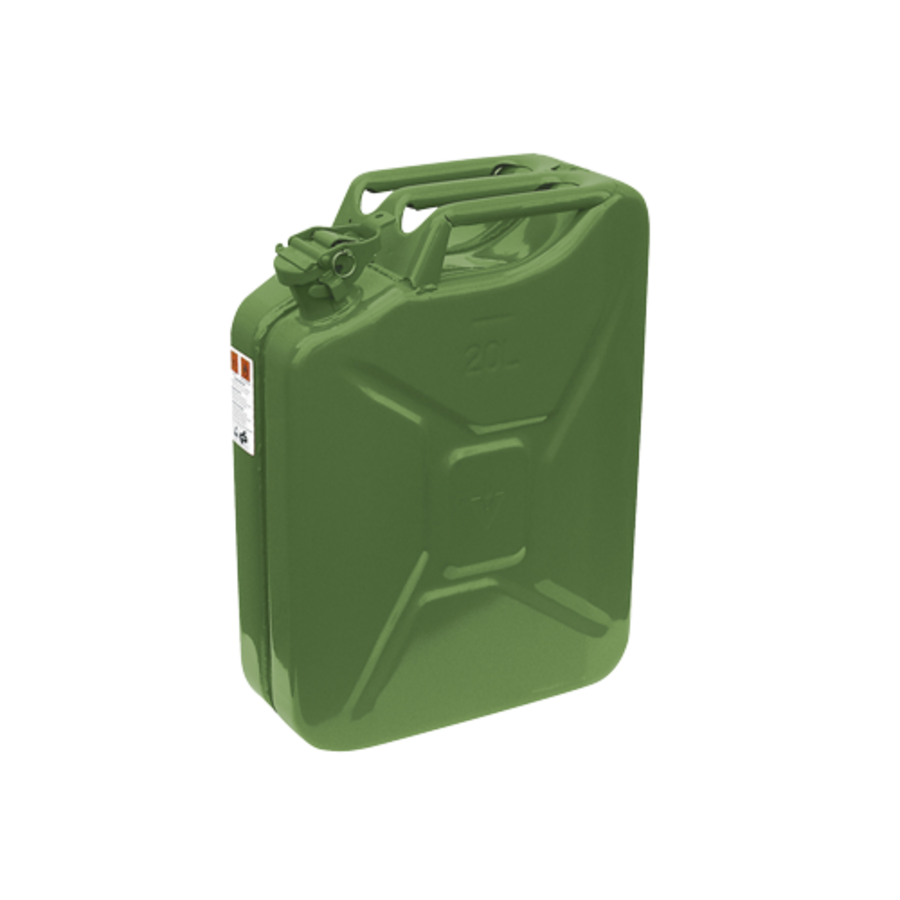 Jerrycan in metaal - 20 l