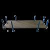 ABM Box de rangement pour rampes 2 x 1 mètres