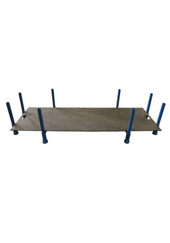 ABM Opslagbox voor rijplaten 2 m x 1 meter