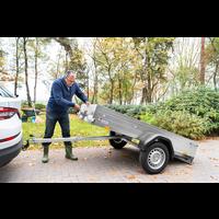 Remorque King 75 - L 2,06 m - 630 kg de charge utile