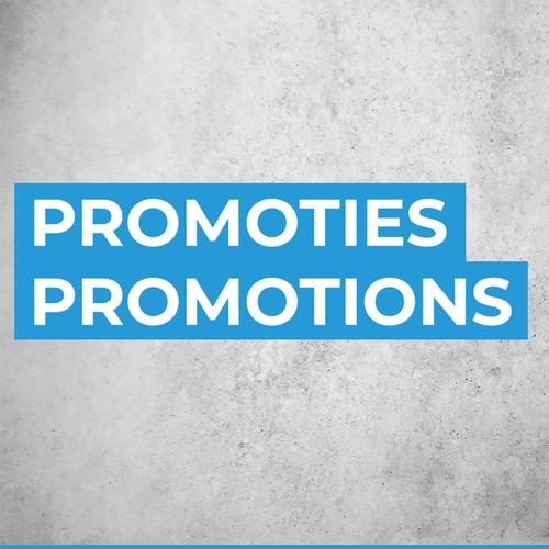 Promotions mensuelles