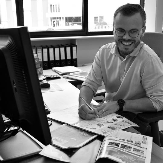 Jeroen Vergauwe I Marketing & webshop verantwoordelijke I Alle Bouw Machines