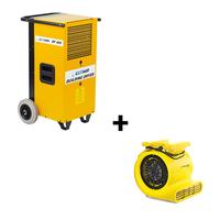 Bundel: bouwdroger DF400 + radiaal ventilator TFV30S
