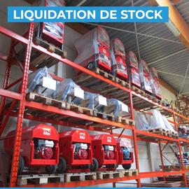 Liquidation de stock - décembre 2020