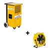 Dryfast Ensemble: déshumidificateur DF400F + ventilateur TTV4500