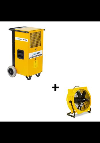 Dryfast Voordeelpakket: bouwdroger DF400F + ventilator TTV4500