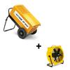 Dryfast Paquet: déshumidificateur DF800F + ventilateur TTV4500