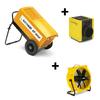 Dryfast Ensemble: déshumidificateur DF800F + ventilateur TTV4500 + chauffage TEH30T