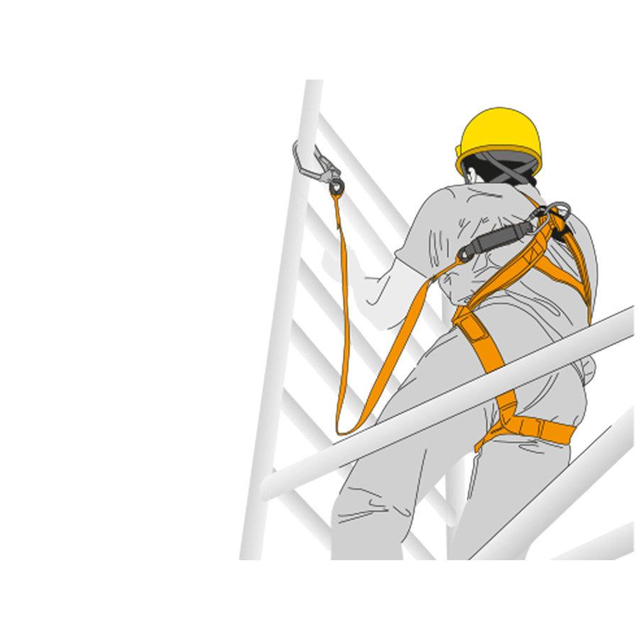Veiligheidsharnas - set stellingswerker