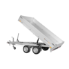Remorque tribenne - charge utile: 2000 kg