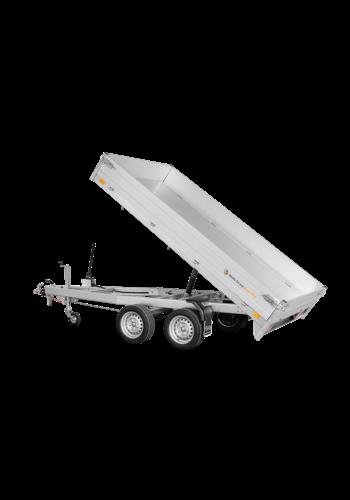 Saris Kipper - L 3,06 m - 2000 kg laadvermogen - incl. hoogrek, oprijrampen en steunen