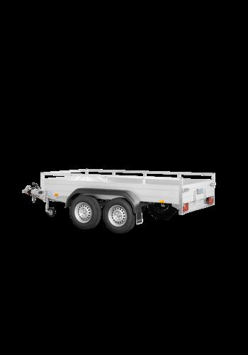Saris Remorque McAlu Pro FW2000 - L 3,05 m - 1635 kg de charge utile