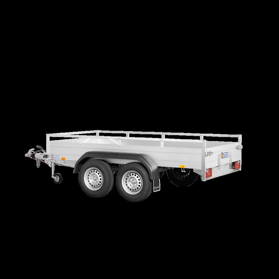 McAlu Pro FW2000 aanhangwagen - L 3,05 m - 1635 kg laadvermogen