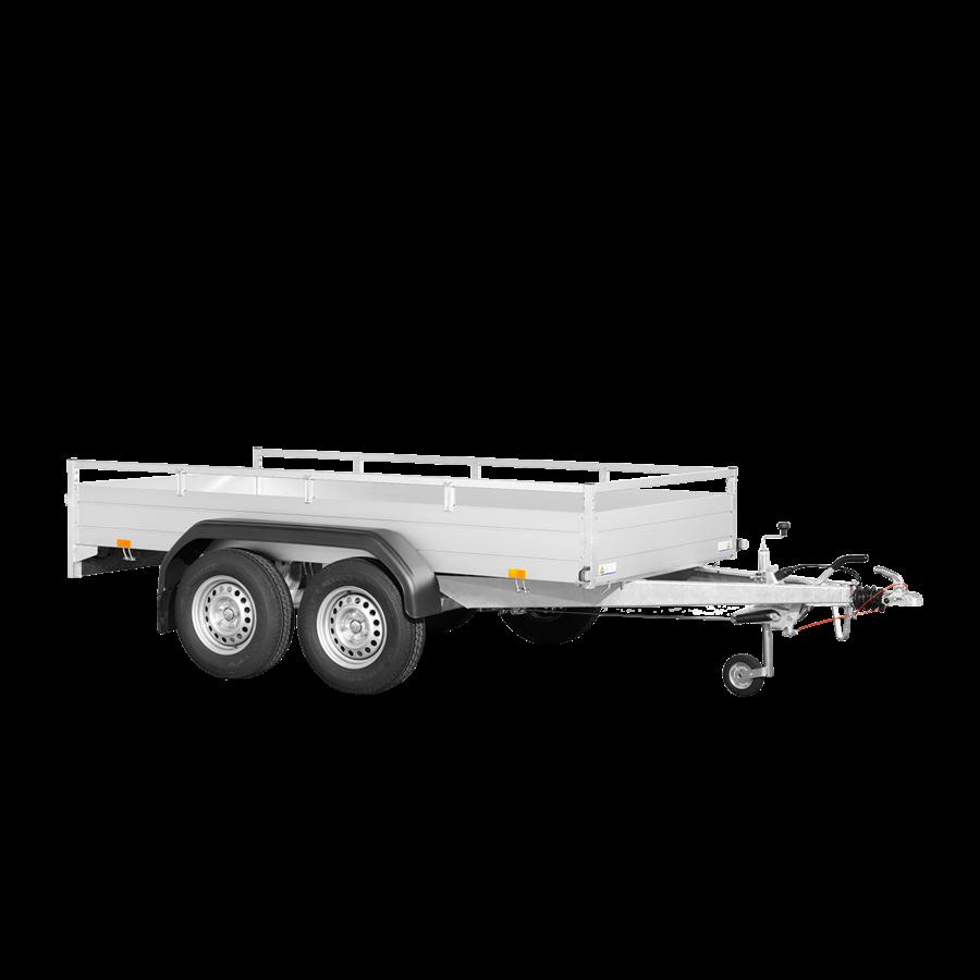Remorque McAlu Pro FW2000 - L 3,05 m - 1635 kg de charge utile