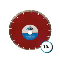 10 disques diamants - 115 mm - 10 pcs.