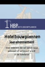 Hotelbouwplannen - Jaarabonnement