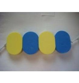 Overige merken Zwemkurkje 4-slags - blauw met geel