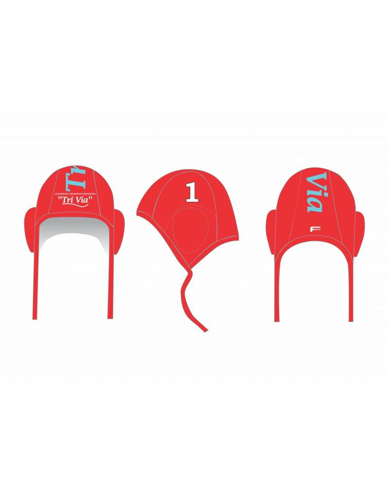 Force TriVia waterpolocaps - rood