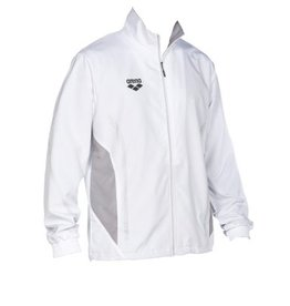 Arena Arena TL Warm Up Jacket white-grey