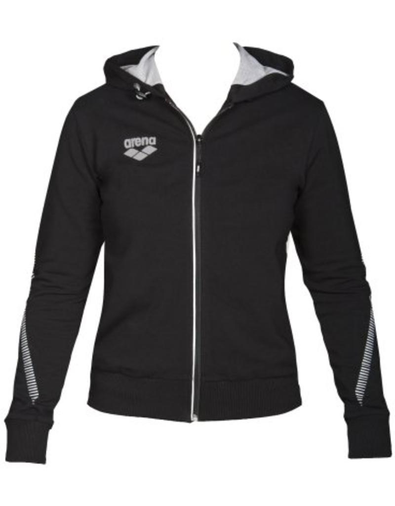Arena Arena W TL Hooded jacket black