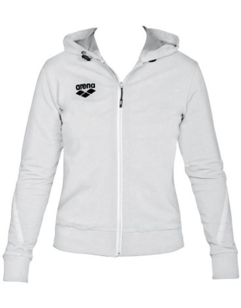 Arena Arena W TL Hooded jacket white