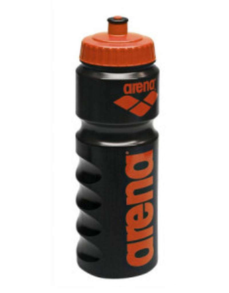 Arena Arena Bidon zwart met oranje