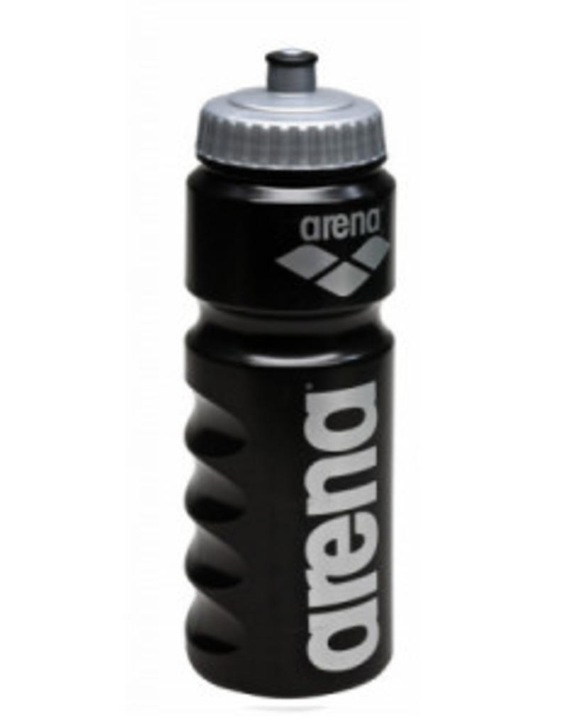 Arena Arena Bidon zwart met grijs