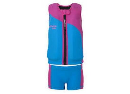 Drijf- en zwempakje en warmhoudpakjes