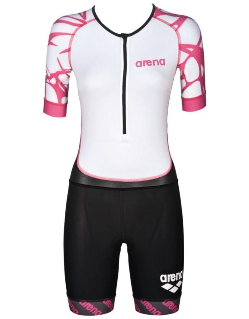Arena Arena Trisuit Aero Womens Black-White-Fuchsia