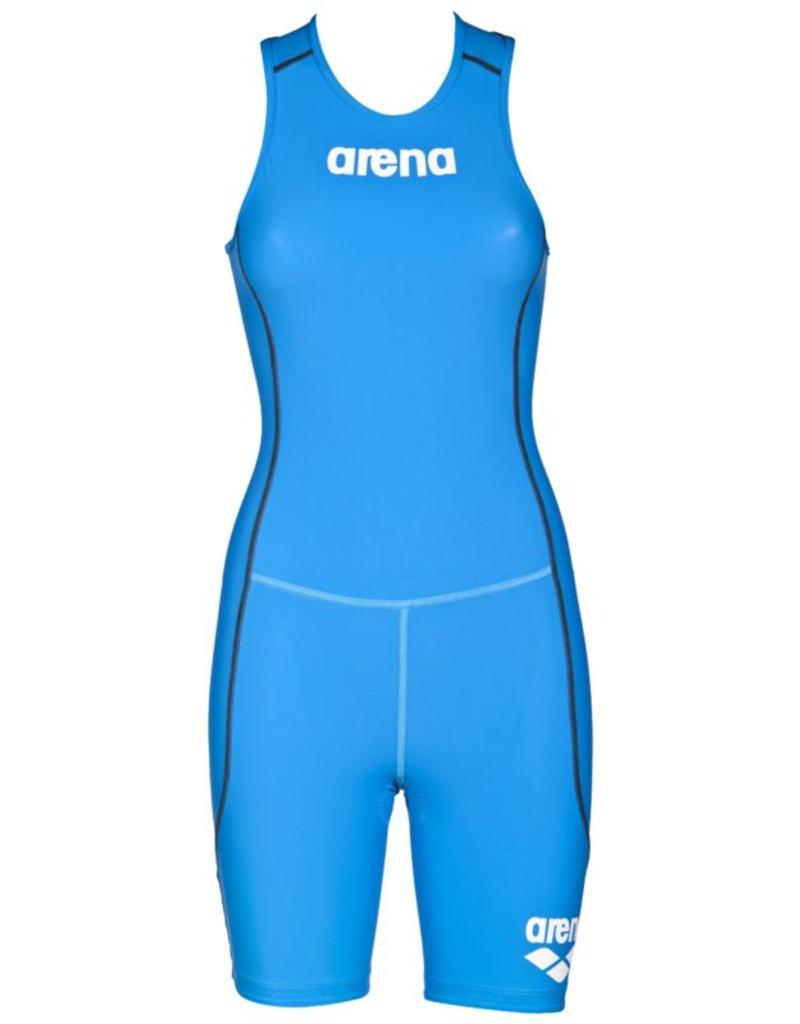 Arena Arena Trisuit ST Rear Zip Womens Brilliant-Blue