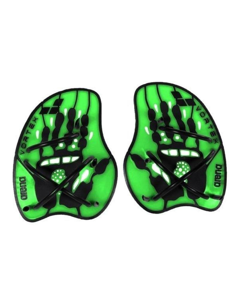 Arena Arena Hand Paddle Vortex Evolution Acid-Green - maat M en L