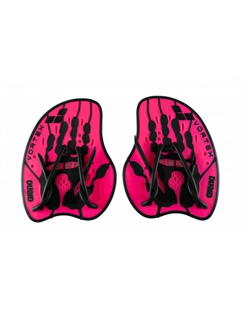 Arena Arena Hand Paddle Vortex Evolution Pink - Maat M en L