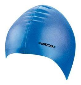Beco effen Beco badmuts blauw