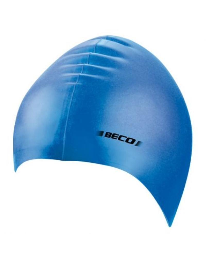Beco effen Beco badmuts roze blauw