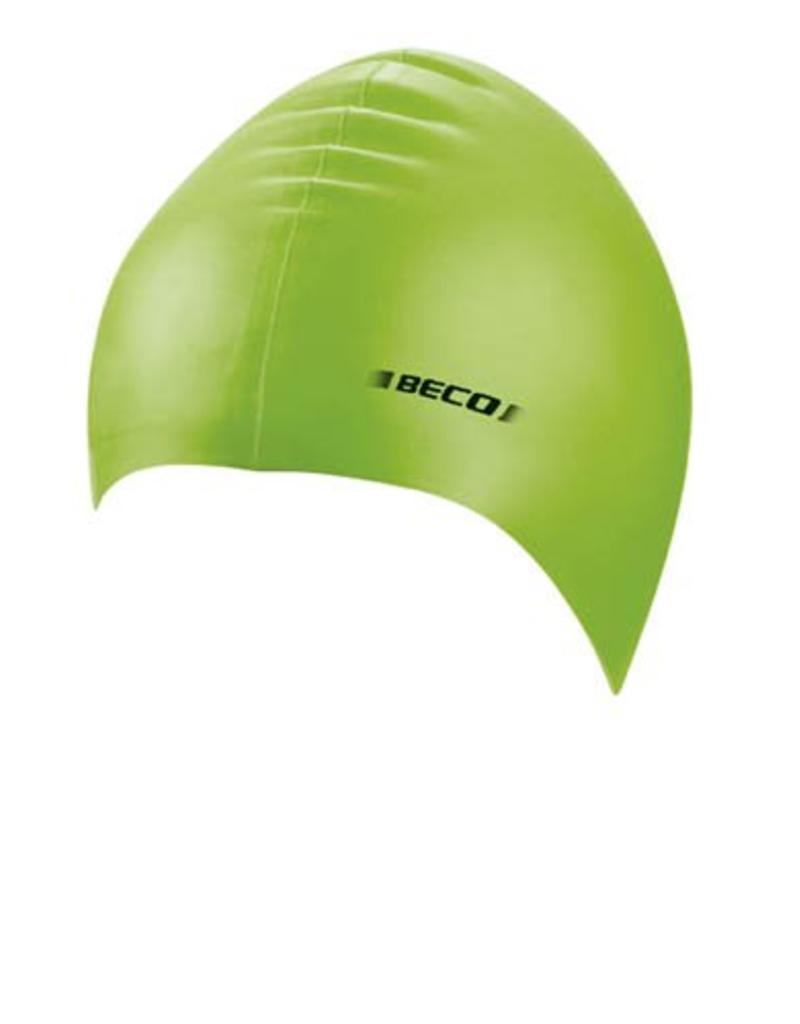 Beco effen Beco badmuts lime groen
